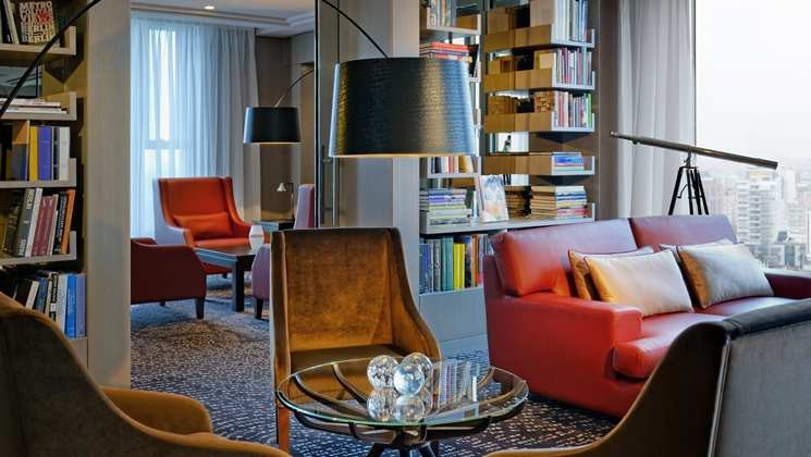 Foto: Waldorf Astoria Berlin, Library